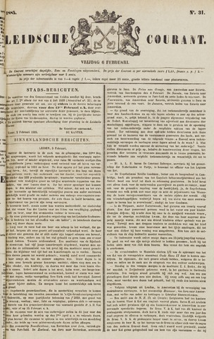 Leydse Courant 1885-02-06