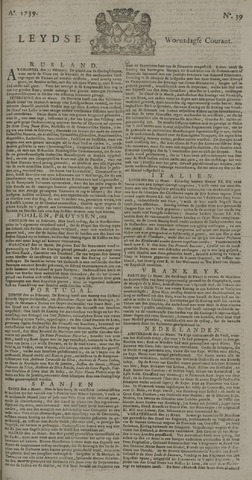 Leydse Courant 1739-04-01