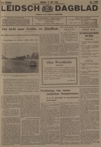 Leidsch Dagblad 1940-05-21