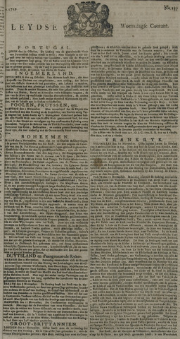 Leydse Courant 1729-11-16