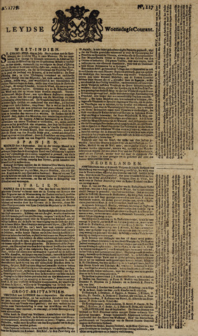 Leydse Courant 1779-09-29
