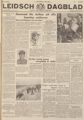 Leidsch Dagblad 1951-04-11