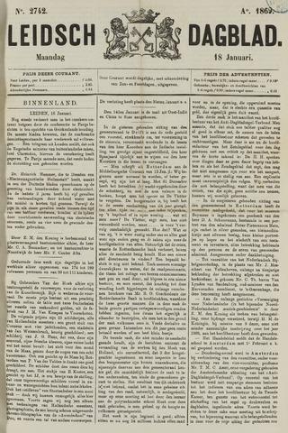 Leidsch Dagblad 1869-01-18