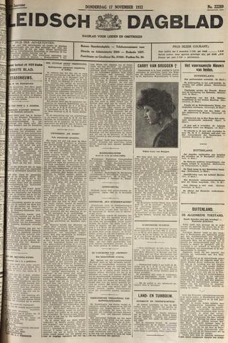 Leidsch Dagblad 1932-11-17