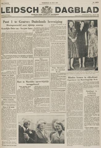 Leidsch Dagblad 1955-07-20