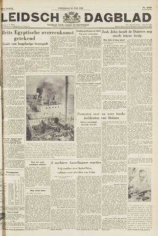 Leidsch Dagblad 1954-07-28