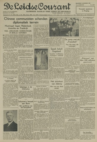 Leidse Courant 1950-01-16