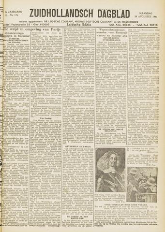 Zuidhollandsch Dagblad 1944-08-28