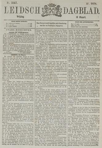 Leidsch Dagblad 1878-03-15