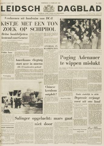 Leidsch Dagblad 1963-02-13