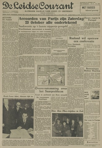 Leidse Courant 1954-10-25