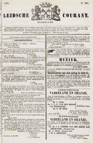 Leydse Courant 1871-05-08