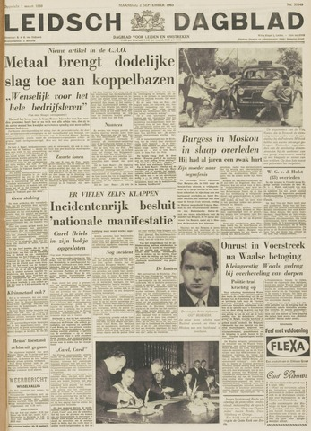 Leidsch Dagblad 1963-09-02