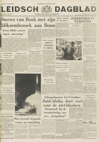 Leidsch Dagblad 1963-08-12