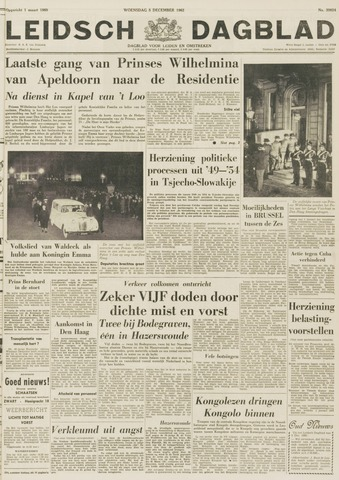 Leidsch Dagblad 1962-12-05