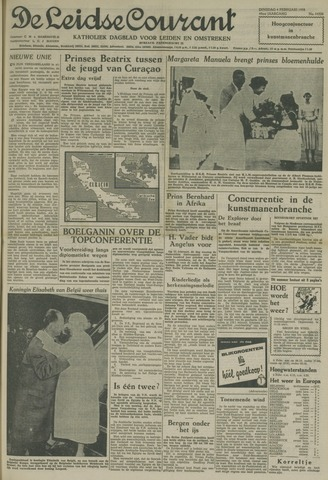 Leidse Courant 1958-02-04