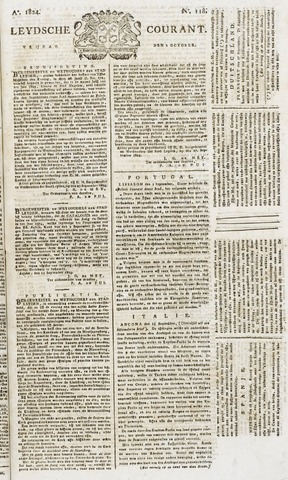 Leydse Courant 1824-10-01