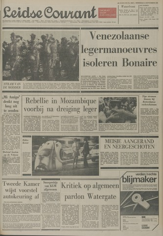 Leidse Courant 1974-09-11