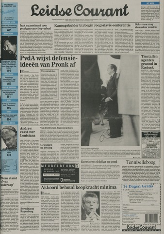 Leidse Courant 1992-08-26