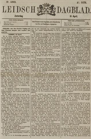 Leidsch Dagblad 1876-04-15