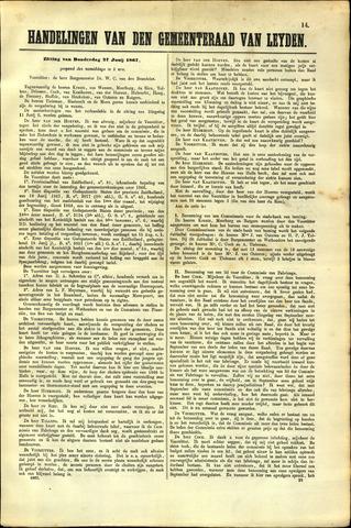 Handelingen van de Raad 1867-06-27