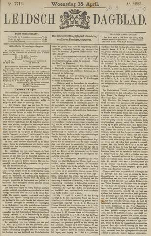 Leidsch Dagblad 1885-04-15