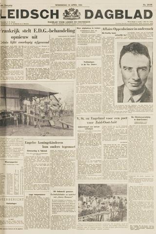 Leidsch Dagblad 1954-04-14