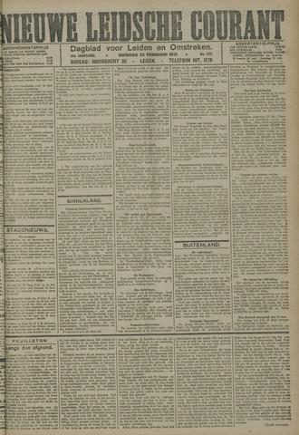Nieuwe Leidsche Courant 1921-02-22