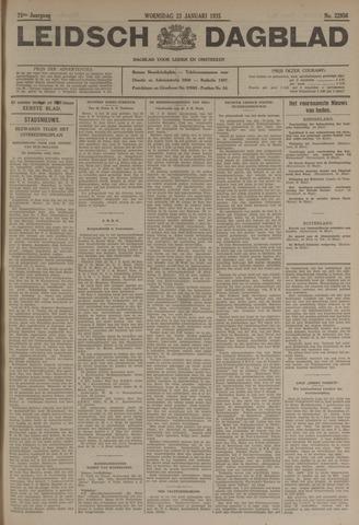 Leidsch Dagblad 1935-01-23