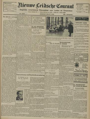 Nieuwe Leidsche Courant 1938-03-01