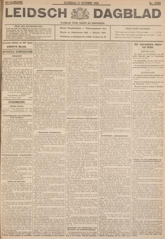 Leidsch Dagblad 1928-10-27