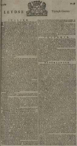 Leydse Courant 1729-03-04