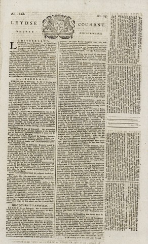 Leydse Courant 1818-02-27