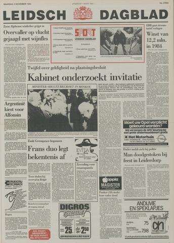 Leidsch Dagblad 1985-11-04
