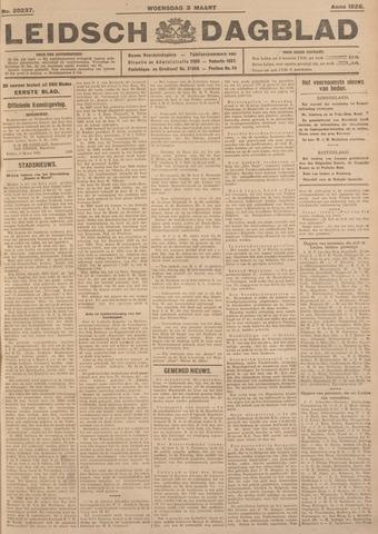 Leidsch Dagblad 1926-03-03