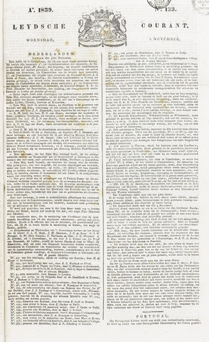 Leydse Courant 1839-11-06