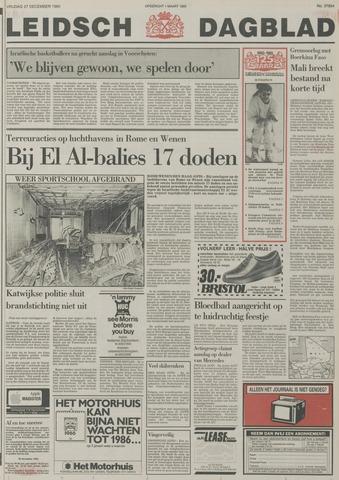 Leidsch Dagblad 1985-12-27