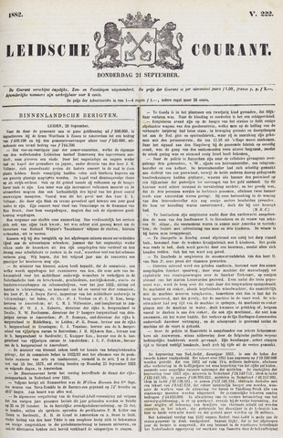 Leydse Courant 1882-09-21