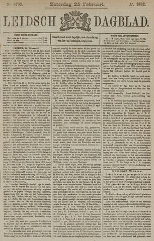 Leidsch Dagblad 1882-02-25