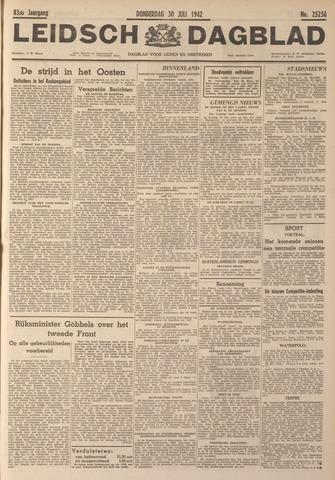Leidsch Dagblad 1942-07-30