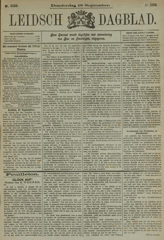 Leidsch Dagblad 1890-09-18