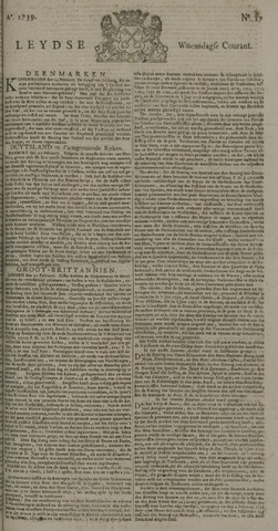 Leydse Courant 1739-03-04