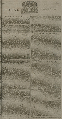 Leydse Courant 1729-09-19