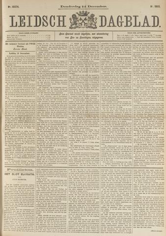 Leidsch Dagblad 1893-12-14