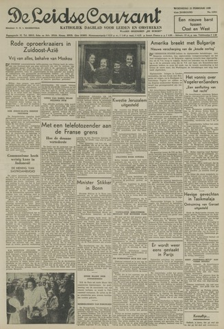 Leidse Courant 1950-02-22