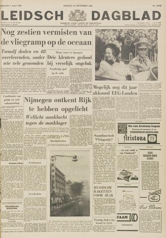 Leidsch Dagblad 1962-09-25