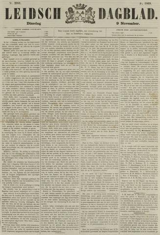 Leidsch Dagblad 1869-11-09