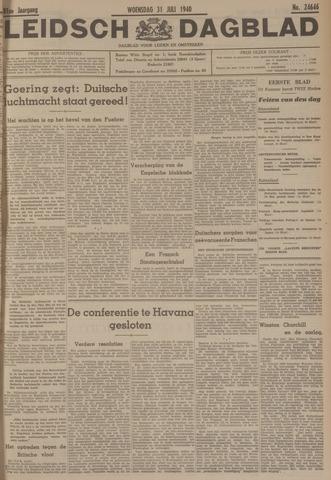 Leidsch Dagblad 1940-07-31