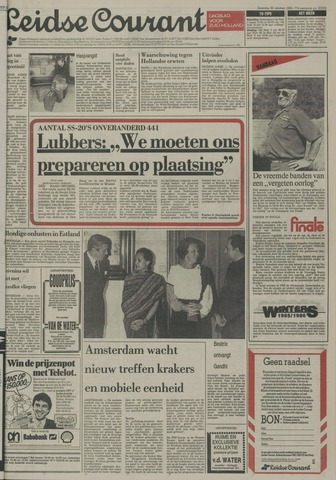 Leidse Courant 1985-10-26