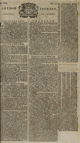 Leydse Courant 1805-11-06
